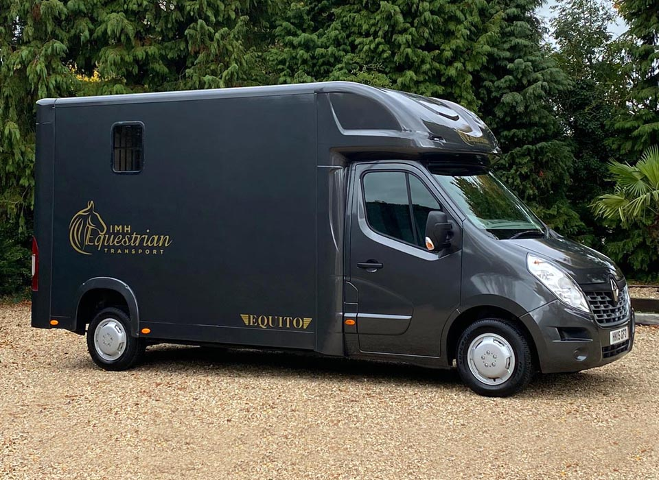 Equito Long Stall Horseboxes